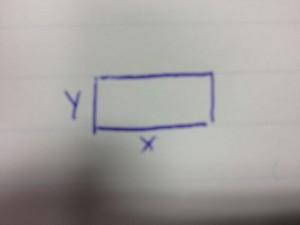 problema geometria piana equazione di primo grado