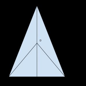 triangoloisoscele
