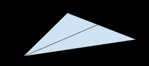 Triangolo con bisettrice