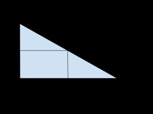 triangolo rettangolo proiezioni