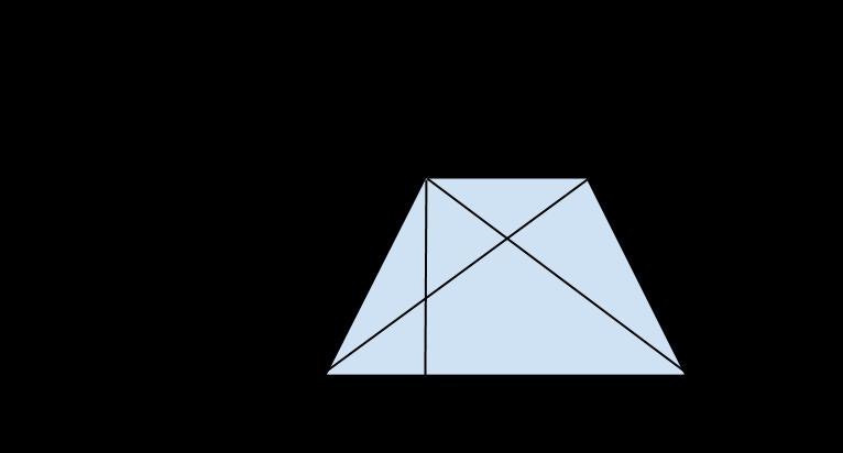 trapezio isoscele con diagonali (1)