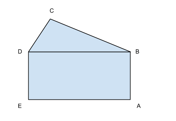 pentagono irregolare