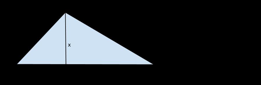 triangolo con altezza