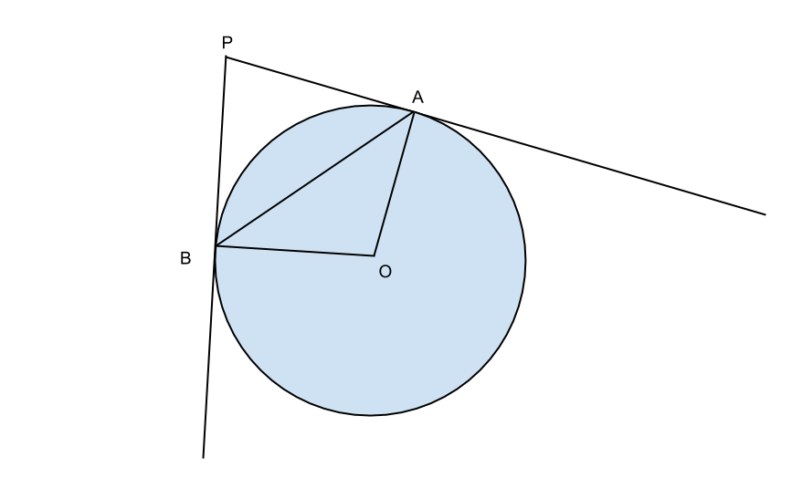 circonferenza con punto esterno
