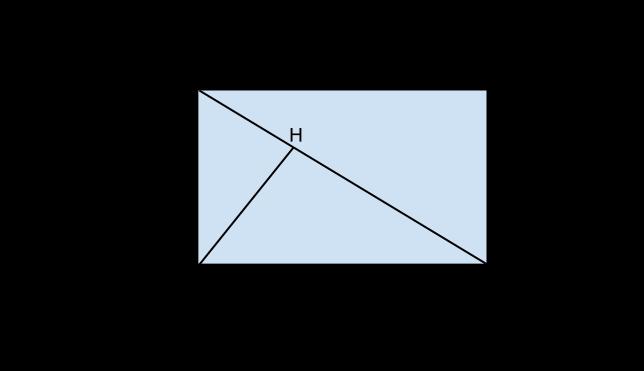 rettangolo con diagonale